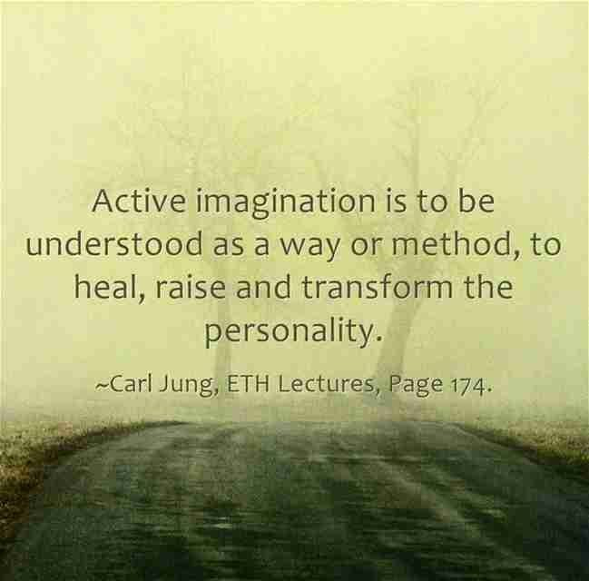reflection on the use of active imagination Jung was careful to distinguish between the archetype in itself, which is unknowable and remains unconscious and the archetypal image that may arise in dreams, mythology, visions, and a therapeutic technique he called 'active imagination' where one is encouraged to enter into a dialogue with the image.